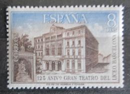 Poštovní známka Španìlsko 1972 Divadlo v Barcelonì Mi# 2009