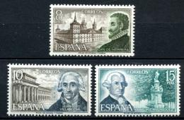 Poštovní známky Španìlsko 1973 Stavitelé Mi# 2012-14