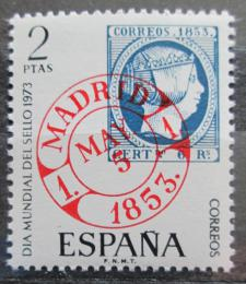 Poštovní známka Španìlsko 1973 Svìtový den známek Mi# 2022