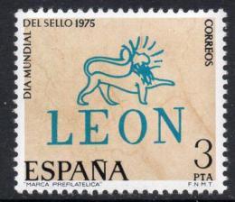 Poštovní známka Španìlsko 1975 Svìtový den známek Mi# 2153