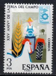 Poštovní známka Španìlsko 1975 Zemìdìlský veletrh Mi# 2155