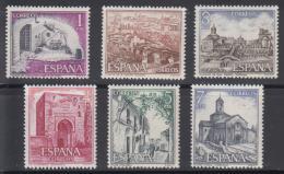 Poštovní známky Španìlsko 1975 Pamìtihodnosti Mi# 2158-63