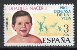 Poštovní známka Španìlsko 1975 Malé dítì Mi# 2175