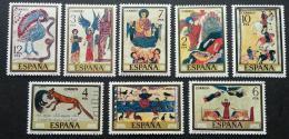 Poštovní známky Španìlsko 1975 Miniatury Mi# 2177-84