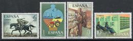 Poštovní známky Španìlsko 1976 Poštovní služby Mi# 2222-25