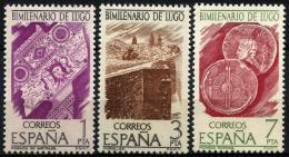 Poštovní známky Španìlsko 1976 Lugo, 200. výroèí Mi# 2249-51