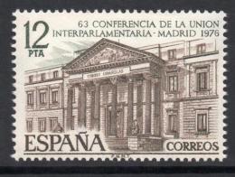 Poštovní známka Španìlsko 1976 Budova parlamentu, Madrid Mi# 2252