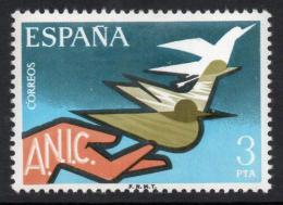 Poštovní známka Španìlsko 1976 Sdružení invalidù Mi# 2271