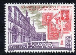 Poštovní známka Španìlsko 1977 Burza známek, 50. výroèí Mi# 2301