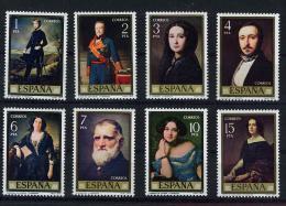 Poštovní známky Španìlsko 1977 Umìní, Federico Madrazo Mi# 2322-29