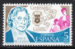 Poštovní známka Španìlsko 1979 Jean Baptiste de La Salle Mi# 2403