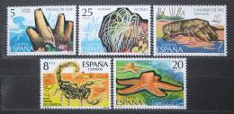 Poštovní známky Španìlsko 1979 Fauna Mi# 2423-27