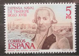 Poštovní známka Španìlsko 1979 Generál Antonio Gutiérrez Mi# 2428