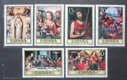 Poštovní známky Španìlsko 1979 Umìní, Juan de Juanes Mi# 2429-34