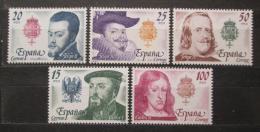 Poštovní známky Španìlsko 1979 Králové Mi# 2444-48