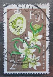 Poštovní známka Fidži 1962 Bílá orchidej Mi# 162 Kat 6.50€