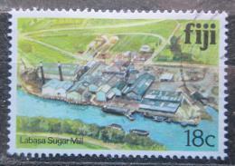 Poštovní známka Fidži 1980 Továrna na zpracování cukru Mi# 407
