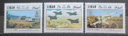 Poštovní známky Libanon 1971 Den armádních sil Mi# 1136-38 Kat 13€