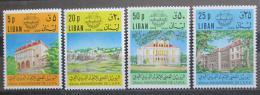 Poštovní známky Libanon 1974 Arabská poštovní unie TOP SET Mi# 1210-13