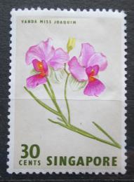 Poštovní známka Singapur 1963 Vanda Miss Joaquim Mi# 64
