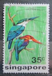 Poštovní známka Singapur 1975 Ptáci Mi# 241 Kat 13€