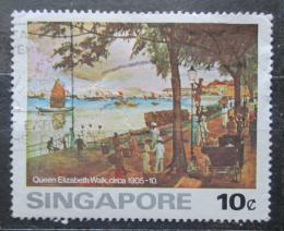 Poštovní známka Singapur 1976 Umìní Mi# 257