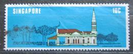 Poštovní známka Singapur 1978 Arménský kostel Mi# 304