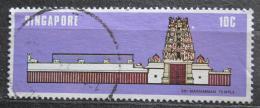 Poštovní známka Singapur 1978 Chrám Sri-Mariamman Mi# 305