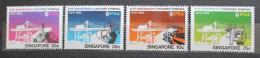 Poštovní známky Singapur 1982 Kontejnerový pøístav, 10. výroèí Mi# 406-09