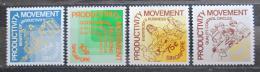 Poštovní známka Singapur 1982 Kampaò za zvyšování produktivity Mi# 414-17