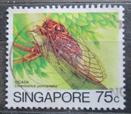 Poštovní známka Singapur 1985 Chremistica pontianaka Mi# 470