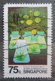 Poštovní známka Singapur 1986 Prùmyslový pokrok Mi# 508