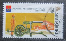Poštovní známka Singapur 1988 Dìlostøelectvo, 100. výroèí Mi# 549