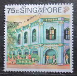 Poštovní známka Singapur 1990 Námìstí Peranakar Mi# 606