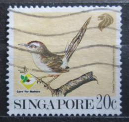 Poštovní známka Singapur 1991 Krejèiøík obecný Mi# 636