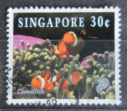 Poštovní známka Singapur 1994 Klaun oèkatý Mi# 713