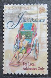 Poštovní známka Singapur 1997 Rikša Mi# 840