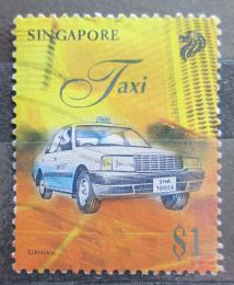 Poštovní známka Singapur 1997 Taxi Mi# 841