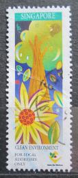 Poštovní známka Singapur 1997 Životní prostøedí Mi# 863
