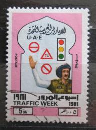 Poštovní známka SAE 1981 Týden bezpeènosti Mi# 125 Kat 6.50€