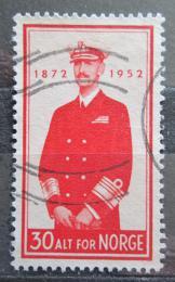 Poštovní známka Norsko 1952 Král Haakon VII. Mi# 376