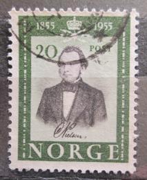 Poštovní známka Norsko 1954 Carsten Tank Nielsen Mi# 387