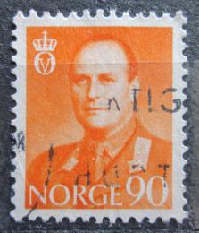 Poštovní známka Norsko 1959 Král Olav V. Mi# 427