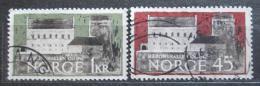 Poštovní známky Norsko 1961 Hakonshalle, 700. výroèí Mi# 456-57