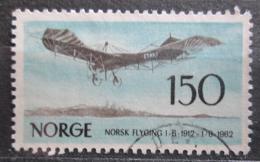 Poštovní známka Norsko 1962 Norské letectví, 50. výroèí Mi# 468
