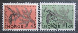 Poštovní známky Norsko 1962 Lesní správa, 100. výroèí Mi# 469-70
