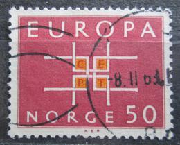 Poštovní známka Norsko 1963 Evropa CEPT Mi# 498