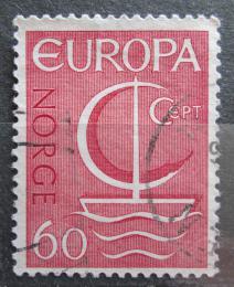 Poštovní známka Norsko 1966 Evropa CEPT Mi# 547