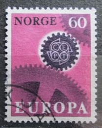 Poštovní známka Norsko 1967 Evropa CEPT Mi# 555