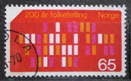 Poštovní známka Norsko 1969 Sèítání lidu Mi# 596